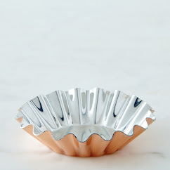 Copper Tartlet Molds (Set of 4 or 8)