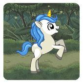 White Unicorn Dash