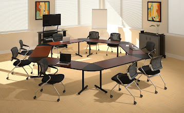 Photo: T-Mate Meeting Room with TSM2 Black chairs