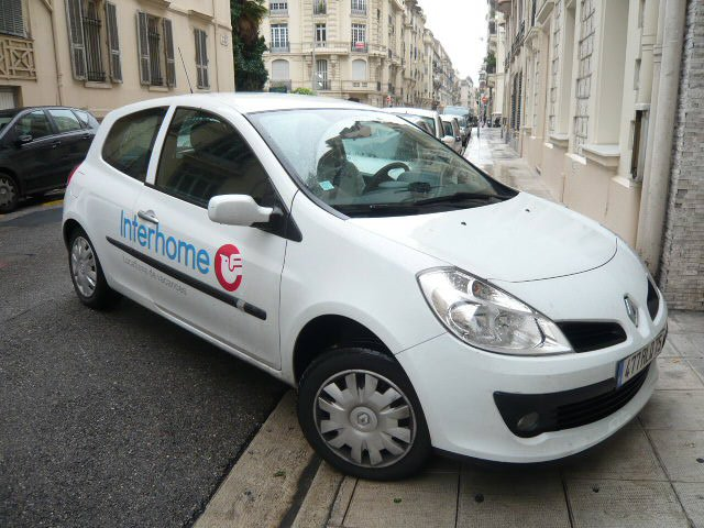 Photo: Interhome car in Nice, France