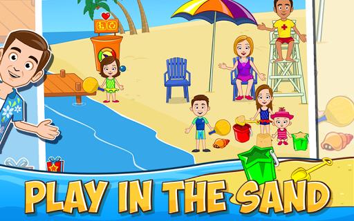My Town: Beach Picnic скачать на планшет Андроид