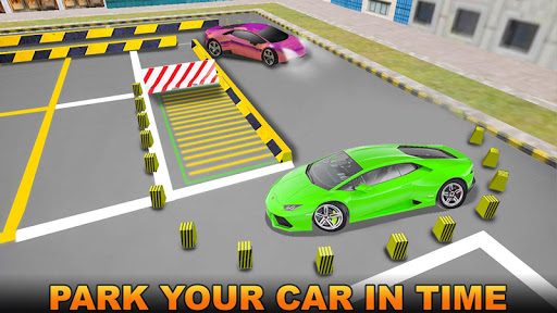 (APK) تحميل لالروبوت / PC Sports Car City Parking Sim ألعاب screenshot