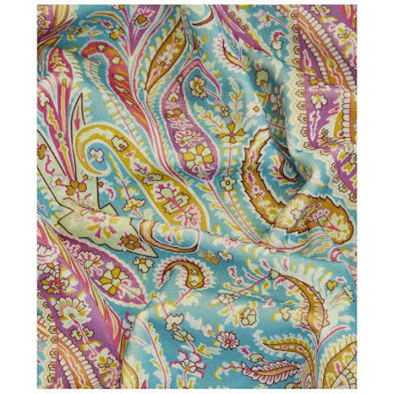 Felix Raison Cotton Velvet in jade från Liberty Interior Fabrics