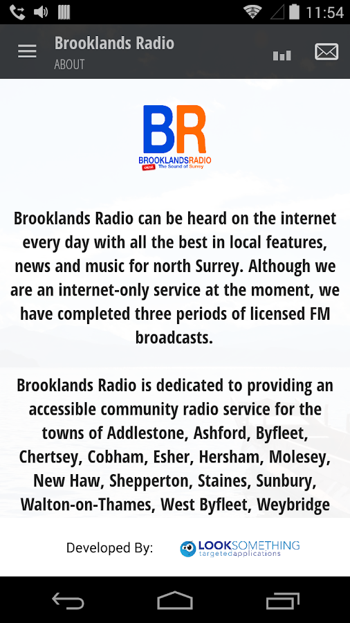 Brooklands Radio- screenshot