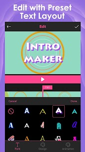Intro Maker – music intro video editor 2