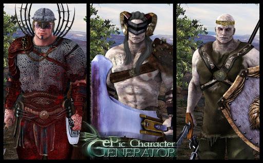 ePic Character Generator 1.0.0.3 screenshots 2