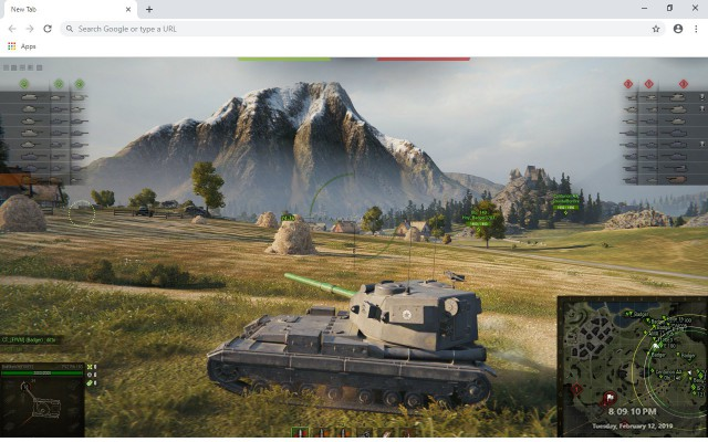 Tank Stars New Tab & Wallpapers Collection