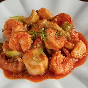 Szechuan Scallops & Shrimps