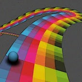 Impossible Rainbow Road!