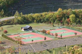 Photo: ウィンケルビレッジから車で5分 朝里ダムテニス場
