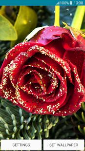 Live Wallpapers - Glitter Rose - náhled