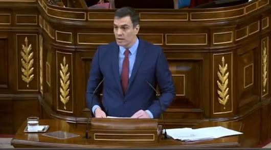 Sánchez anuncia un homenaje de Estado a las víctimas del coronavirus