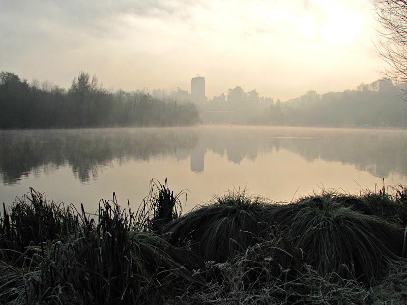 Prime luci sul fiume di donyb