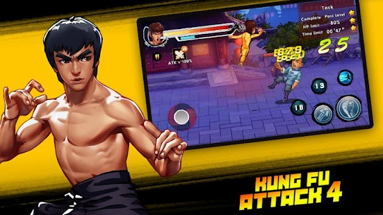 Kung Fu Attack 4 - Shadow Legends Fight Screenshot