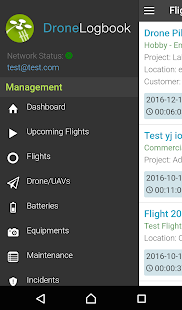 DroneLogbook Mobile- screenshot thumbnail