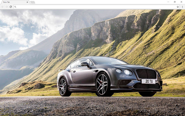 Bentley New Tab & Themes