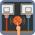 Spring Basketball Arrow Target icon