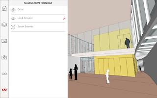 Screenshot of SketchUp Mobile Viewer