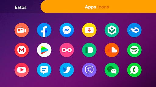 oneui 3 - round icon pack screenshot 3