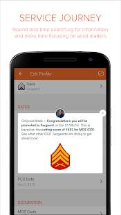 Sandboxx - Military App- screenshot thumbnail