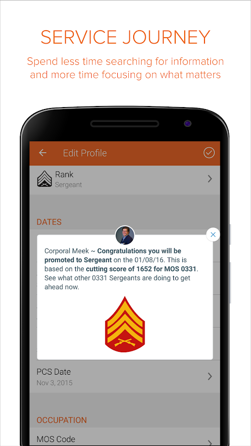 Sandboxx - Military App- screenshot