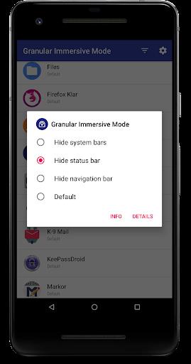 Granular Immersive Mode  screenshots 3