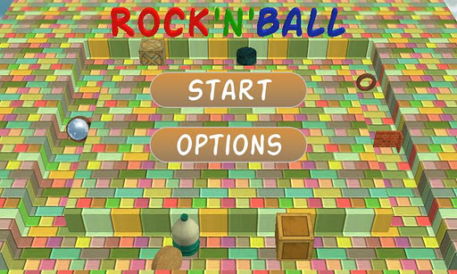 RocknBall Free screenshot 1