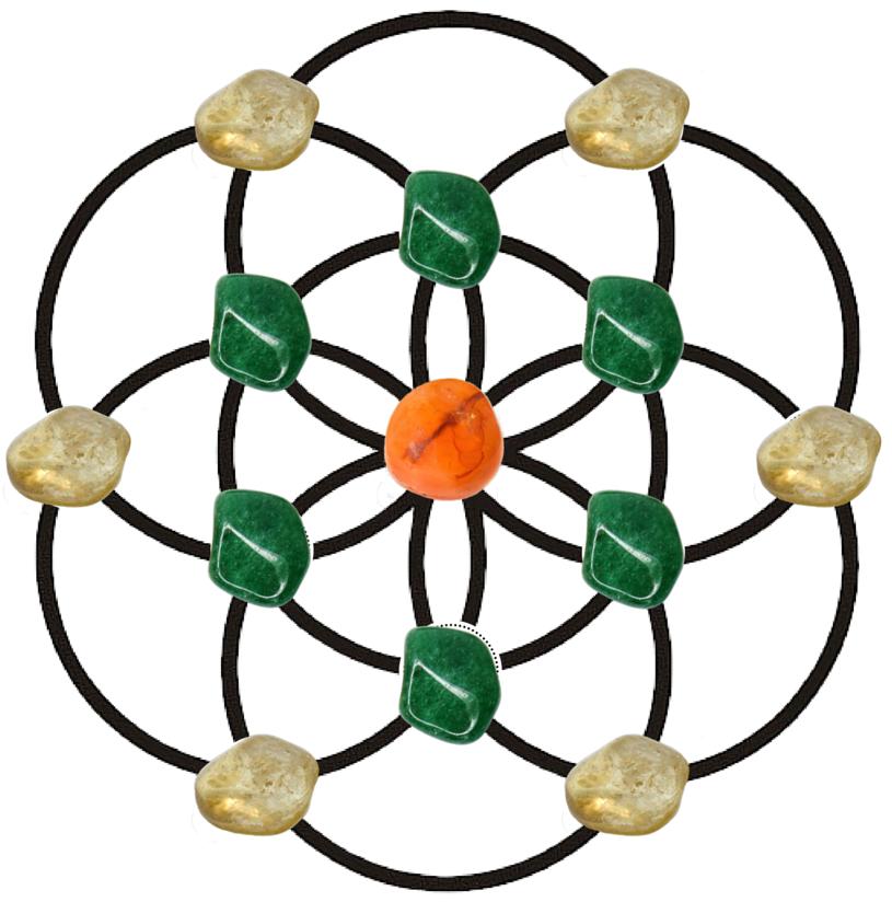 Crystals Grid Crystal Abundance