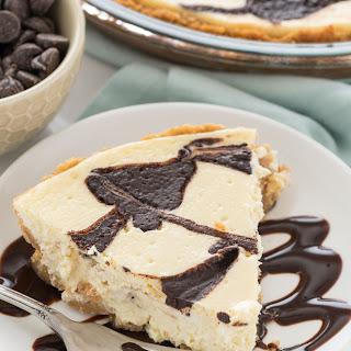 Chocolate Swirl Cheesecake Pie