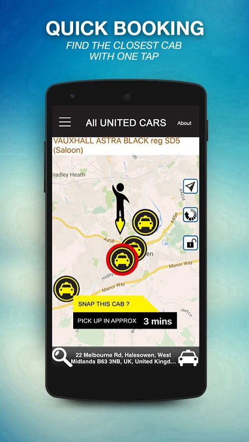 All United Taxi- screenshot