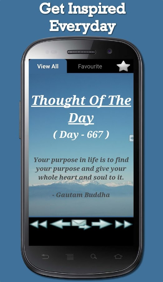 Thought Of The Day- screenshot