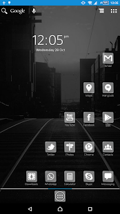 Crystal Launcher and Theme - náhled