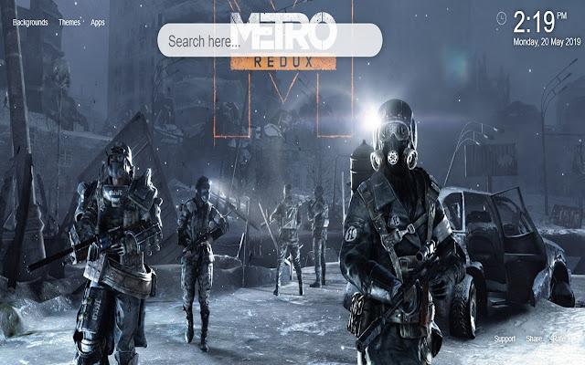 Metro Exodus HD Wallpapers New Tab