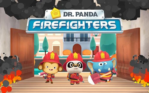 Dr. Panda Firefighters- screenshot thumbnail
