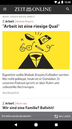 ZEIT ONLINE - Nachrichten 1.9.7 screenshots 3