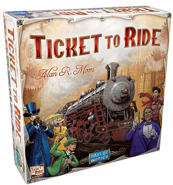 ticket to ride board game gift ideas homebodies
