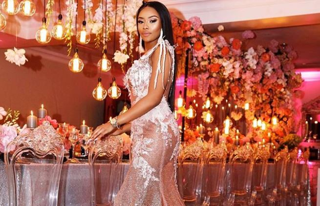 Dripping In Gold And Melanin Inside Bonang S 31st