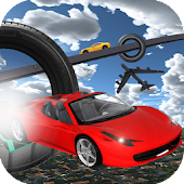 Extreme Tracks Racing Stunts :Ultimate Flying Cars