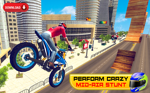 Bike Stunt Racing 3D - Free Games 2020 1.1 screenshots 1