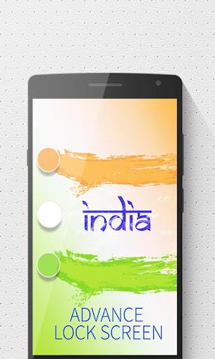 India Advance Theme LockScreen