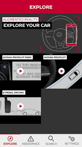 NISSAN Driver's Guide screenshot