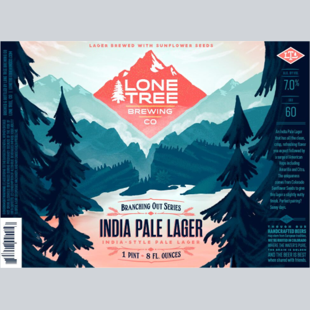 Logo of Lone Tree India Pale Lager