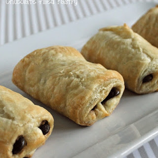 Chocolate filled Pastry.
