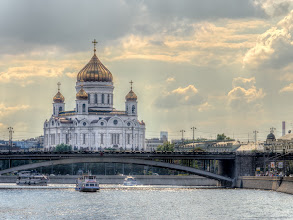 Photo: Cathedral of Christ the Saviour. Moscow, Russia.