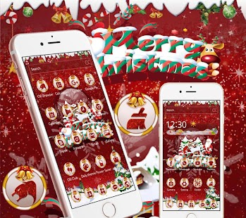 Christmas Santa Claus Wallpaper - náhled