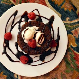 Chocolate Lava Cake And a Birthday