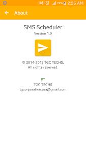 SMS Scheduler screenshot 5