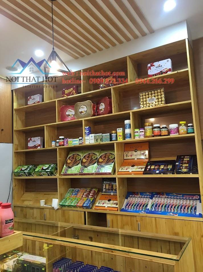 thi công cửa hàng bánh kẹo nhập khẩu 10