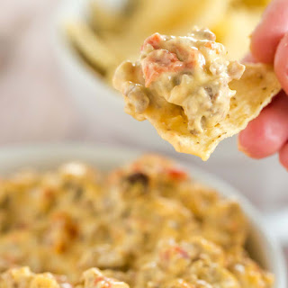 Ground Beef Cream Cheese Rotel Dip Recipes