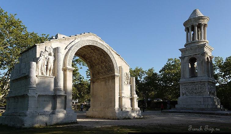 Мавзолей и триумфальная арка в Сен-Реми